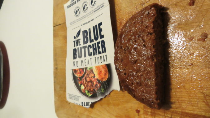 The Blue Butcher No Meat Today